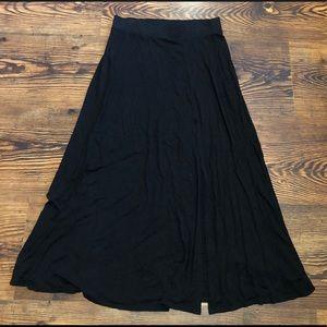 Torrid Maxi Skirt With Slit Sz.L (00)